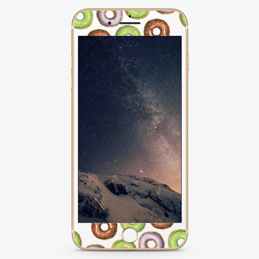 Yummy Donuts Artistic Skin Screen Protector For iPhone