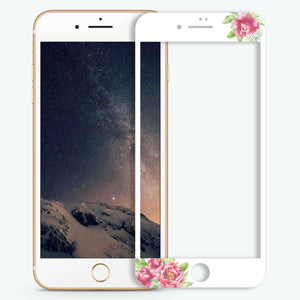 Watercolor Paeonia Artistic Skin Screen Protector For iPhone