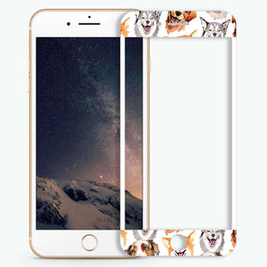 Dogs family Artistic Skin Screen Protector For iPhone
