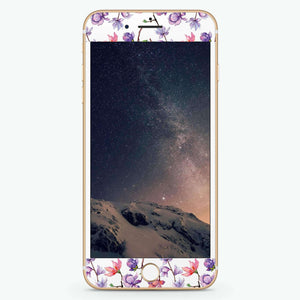 Color In Spring Artistic Skin Screen Protector For iPhone