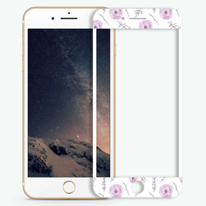 Vibrant Floral Artistic Skin Screen Protector For iPhone