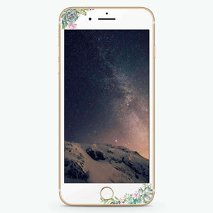 Rose in Wild Artistic Skin Screen Protector For iPhone