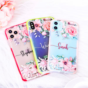 Forever Love Rose Shockproof Bumper Case