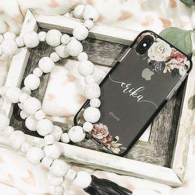 Insta - Art of Classic Floral Custom Bumper Case