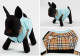 Plaid Collar Dog Vest - Miami Pooch Pet Boutique