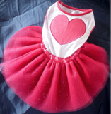 Pink Heart Dog Dress - Miami Pooch Pet Boutique