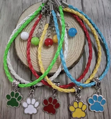 Colorful Paw Bracelet - Miami Pooch Pet Boutique
