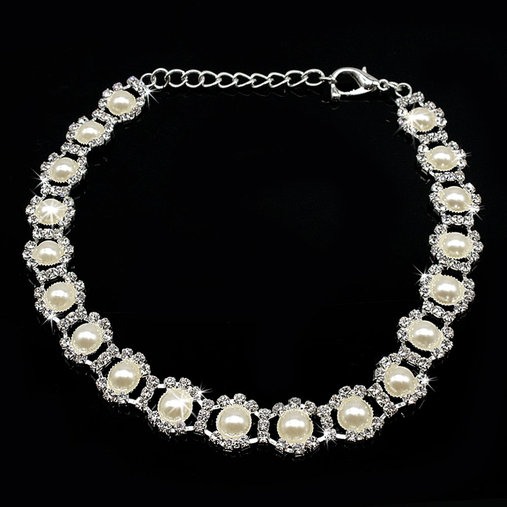 Pearl Dog Necklace - Miami Pooch Pet Boutique