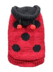 Lady Bug Dog Sweater (Dog Costume) - Miami Pooch Pet Boutique
