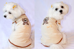 Hachi's Bone Dog Tee - Miami Pooch Pet Boutique