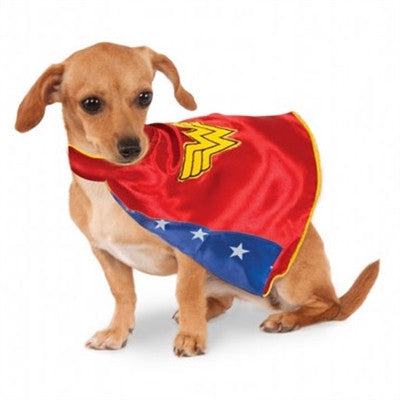 Wonder Woman Cape Dog Costume