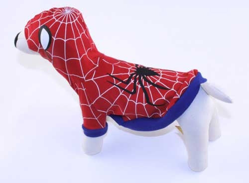 Spider Superhero Dog Costume