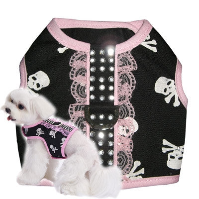 Girl Skull Dog Harness