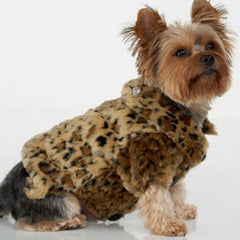 Leopard Dog Coat - Miami Pooch Pet Boutique