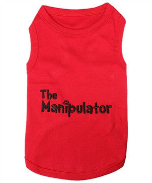 """The Manipulator"" Dog Tank - Miami Pooch Pet Boutique"