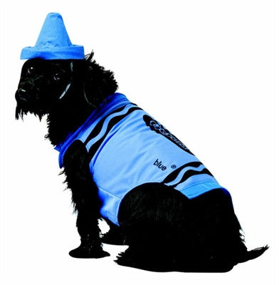 Crayola Blue Crayon Dog Costume