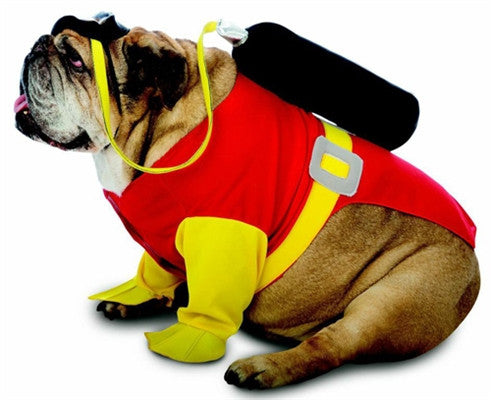 Zelda Scuba Dog Costume