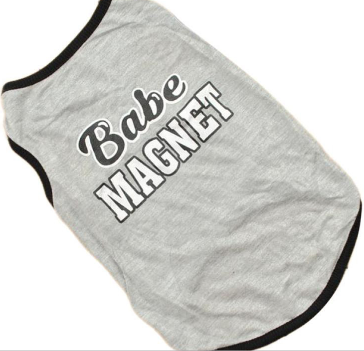 """Babe Magnet"" Dog Tank - Miami Pooch Pet Boutique"