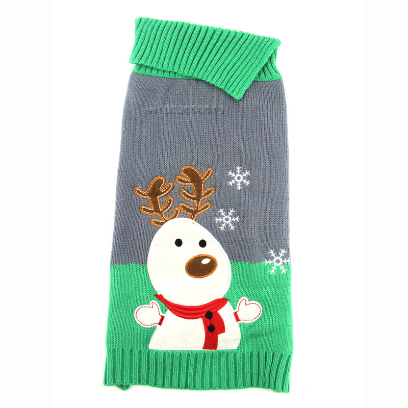 Cute Reindeer Dog Sweater - Miami Pooch Pet Boutique
