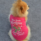 """Who Needs Mistletoe With A Face Like This? - Miami Pooch Pet Boutique"