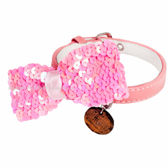 Summer Glitter Dog Collar - Miami Pooch Pet Boutique