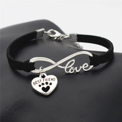 Black Best Friend Bracelet - Miami Pooch Pet Boutique