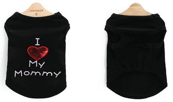 """I Love My Mommy"" Tank - Miami Pooch Pet Boutique"