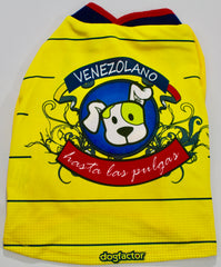"""Venezolano Hasta Las Pulgas"" Dog Tee - Miami Pooch Pet Boutique"