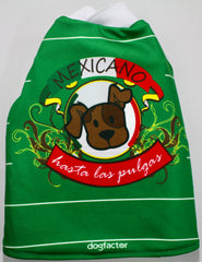 """Mexicano Hasta Las Pulgas"" Dog Tee"