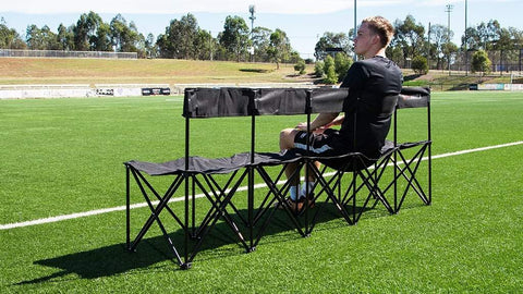5 SEATER Portable Bench - Sets Up In Seconds