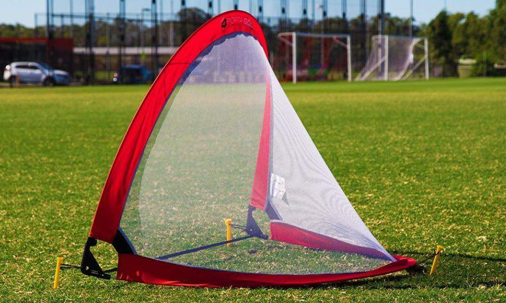 818dc1d3e These goals have been designed by Pro Football Australia to ensure the  quality and structure stands out above any other pop up goal