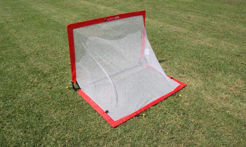Square Pop Up Soccer Goal Pair