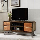 Industrial style  Iron/Wooden -  TV Media Unit cabinet.