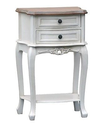 SHABBY CHIC Appleby painted  BEDSIDE TABLE