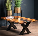 Live Edge Collection River Coffee Table