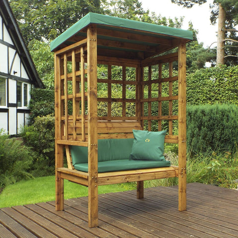 Hand Crafted Devon two  Seater Arbour garden furniture