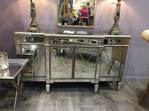The Belfry Collection Mirrored Sideboard SALE