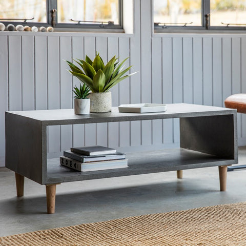 Cube faux concrete finish Coffee Table
