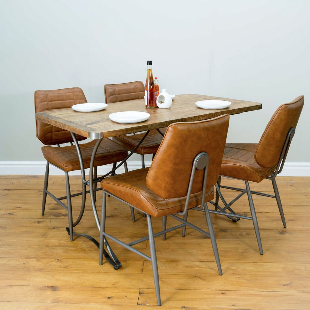 RE-Engineered Rectangular Bistro Table 70x120