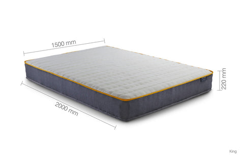 SleepSoul POCKET SPRUNG Comfort Mattress KING.