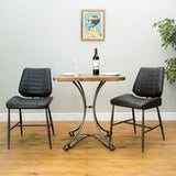 RE-Engineered Square Bistro Table 70x70