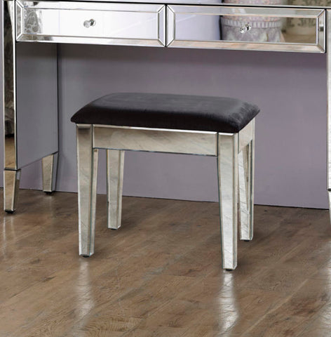 Valarie mirrored dressing table STOOL