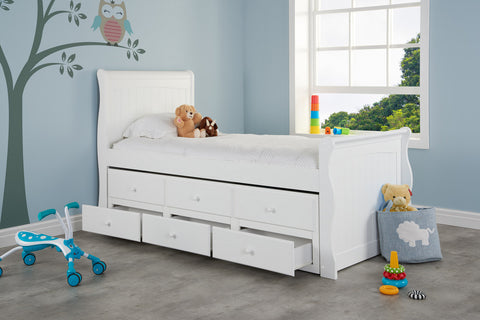 Kids Cabin/trundle Bed
