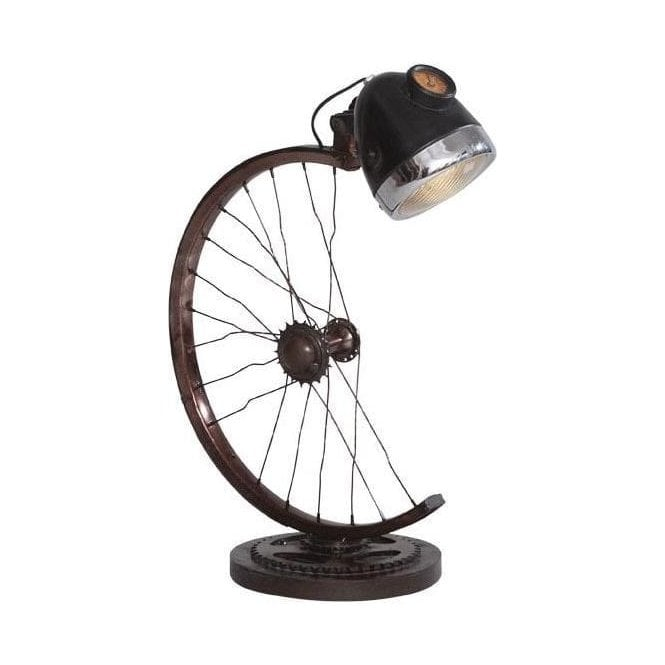 Industrial style cycle lamp