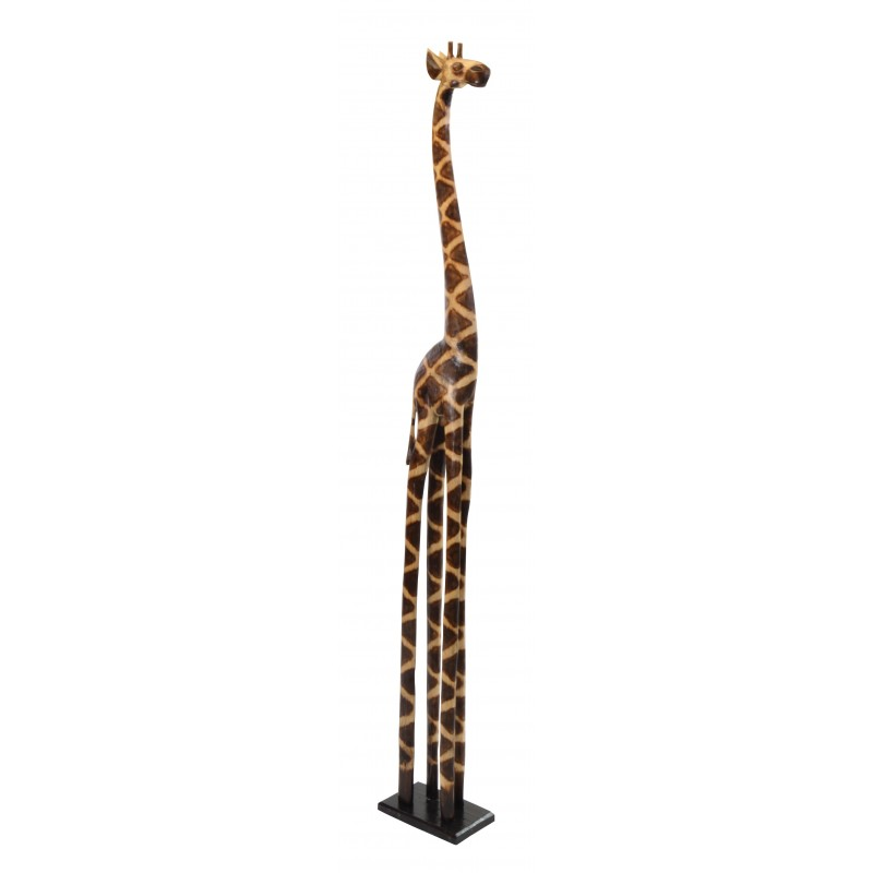 Wooden Giraffe 200cm  Ornaments Statues great gift