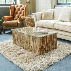 Hand Crafted Drift Wood Coffee Table Lounge furniture
