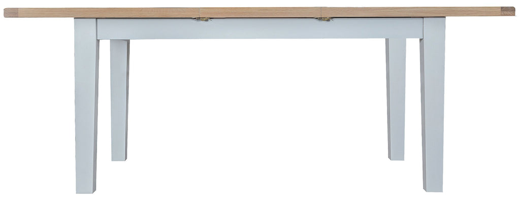 Titan Grey Painted Oak 1.6m Butterfly Extending TaBLE