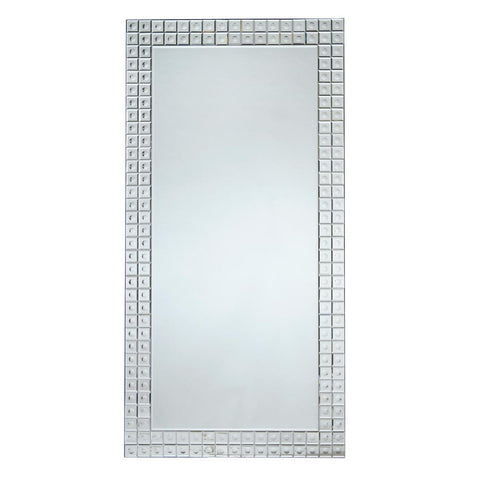Contemporary Venetian Bevelled Bubbles Mirror