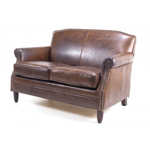 Vintage Leather 2 Seater Sofa Sale
