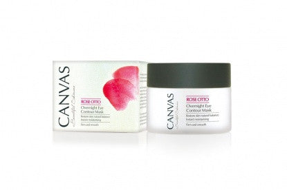 Canvas Rose Otto Overnight Eye Contour Mask 50ml